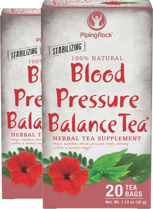 Blood Pressure Herb Tea 2 Boxes x 20 Tea Bags
