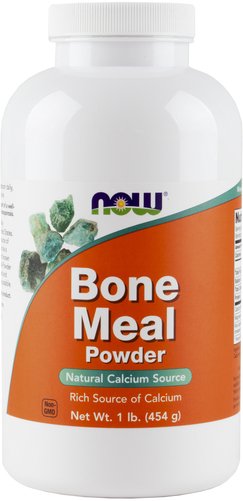 Buy Bone Meal Powder 1 lb (454 g) Bottle
