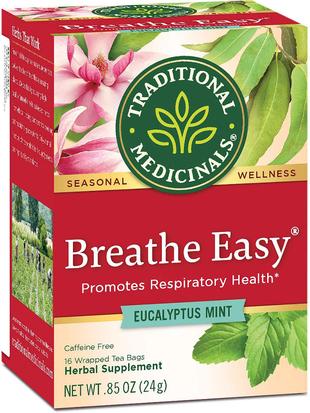 Thé À pleins poumons 16 Sachets de thé