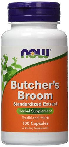 Butcher's Broom, 500 mg, 100 Capsules