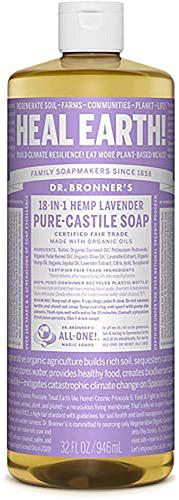 Castile lavendelzeep 32 fl oz (946 mL) Fles