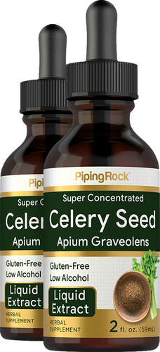 Celery Seed Liquid Extract, 2 fl oz (59 mL) Dropper Bottle