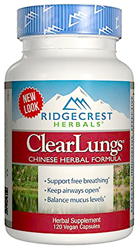 Reinig longen 120 Capsules