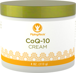 CoQ 10 Cream 4 oz (113 g) Jar Skin Benefits