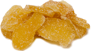 Crystallized Ginger Slices 1 lb Bag
