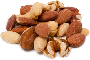 Deluxe Mixed Nuts Roasted Unsalted 2 Bags x 1 lb (454 g)