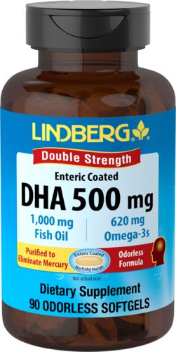 DHA w powłoce kwasoodpornej 90 Tabletki żelowe