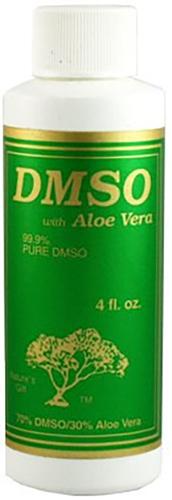 DMSO com Aloe Vera 4 fl oz (118 mL) Frasco