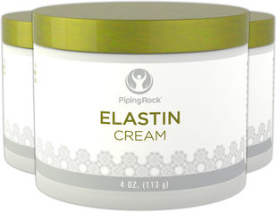 Crema all'elastina 4 oz (113 g) Vaso