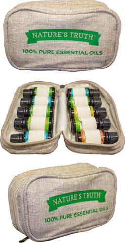 Walizka do przenoszenia olejków aromatycznych 1 Case - Holds Ten (10) 15 mL Butelka