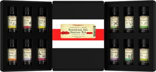 Zestaw startowy do olejków eterycznych - czystości (GC/MS Sprawdzono) 12 Butelki