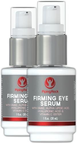 Sérum contour des yeux raffermissant + Alpha lipoïque, DMAE, Vitamine C Ester 1 fl oz (30 mL) Bouteille à pompe