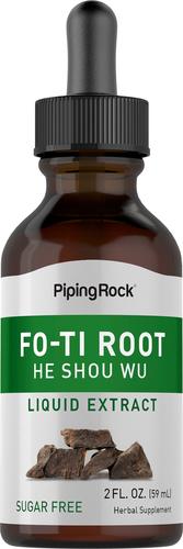 He Shou Wu Fo Ti Root Liquid Extract 2 fl oz (59 mL) Dropper Bottle