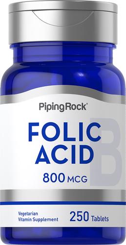 Foliumzuur  250 Tabletten