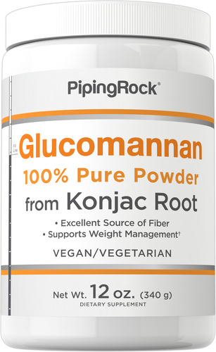 Glukomanian - czysty proszek (korzeń konjac) 12 oz (340 g) Butelka