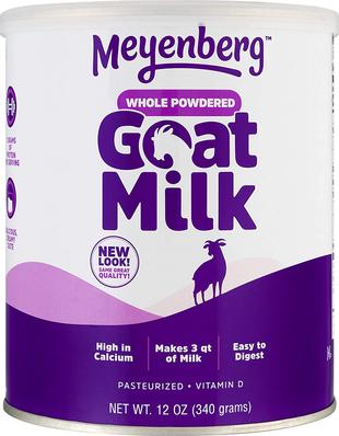 Buy Goat Milk Powder 12 oz (340 g) Container