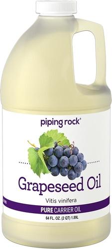 グレープシード オイル 64 fl oz (1.89 L) ボトル