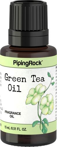 Huile de parfum de thé vert 1/2 fl oz (15 mL) Compte-gouttes en verre