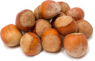 껍질을 벗기지 않은 헤이즐넛 (개암) 1 lb (454 g) 가방
