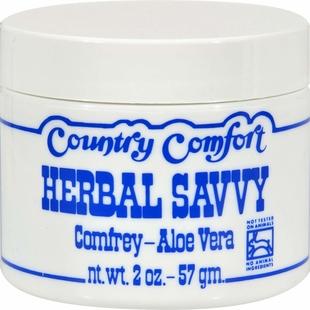Kruiden Savvy smeerwortel aloë veracrème 2 oz (57 g) Pot