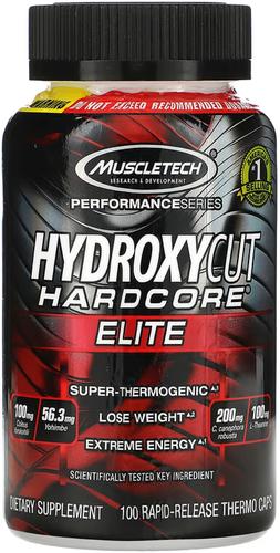 Hydroxycut Hardcore Elite 100 Capsules