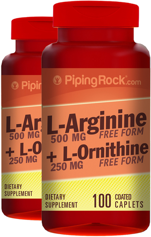 L-アルギニン&オルニチン  100 コーティング カプレット