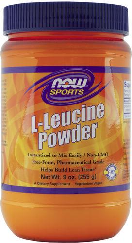 L-Leucina en polvo 9 oz (255 g) Polvo