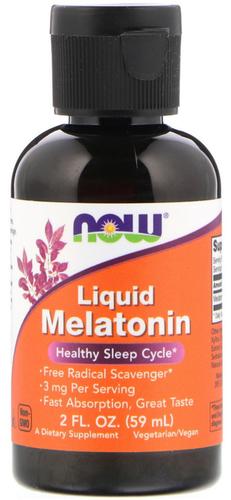 Melatonina liquida 3 mg 2 fl oz (59 mL) Flacone contagocce