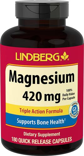 Triple Magnesium, 420 mg, 180 Capsules