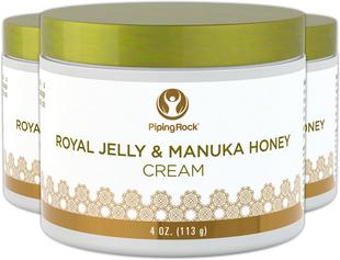 Κρέμα με Βασιλικό πολτό & μέλι Manuka 4 oz (113 g) Βαζάκι