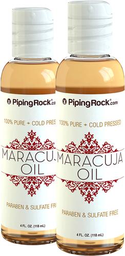Huile de maracuja 100% pure pressée à froid 4 fl oz (118 mL) Bouteilles
