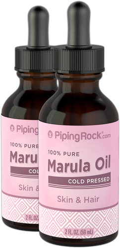 Marula Oil 2 Dropper Bottles x 2 fl oz