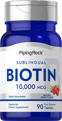 Biotina Max 90 Pastillas de rápida disolución