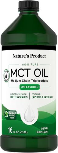 Olej MCT (trójglicerydy średniołańcuchowe) 16 fl oz (473 mL) Butelka