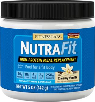 Shake zastępujący posiłek NutraFit (kremowy, wanilia) (próbka) 5 oz (142 g) size_units.unit.118