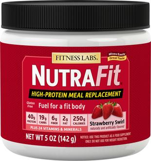 Shake zastępujący posiłek NutraFit (truskawka) (próbka) 5 oz (142 g) size_units.unit.118
