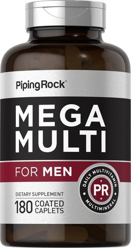 Πολυβιταμίνη για άνδρες Mega 180 Επικαλυμμένα δισκία σε σχήμα κάψουλας