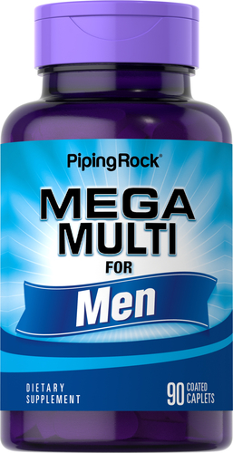Best Multivitamin For Men >> Best Multivitamin For Men Mega Multivitamin For Men Piping Rock Health Products