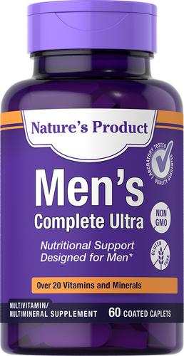 Men's Complete Ultra, 60 Coated Caplets
