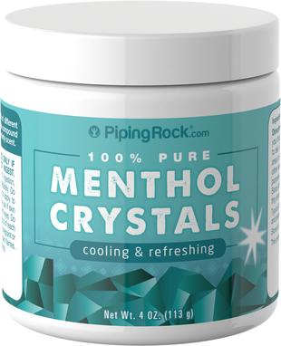 Кристаллический ментол 4 oz (113 g) Флакон