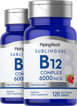 Methylcobalamin B-12 6000 mcg Complex (Sublingual)