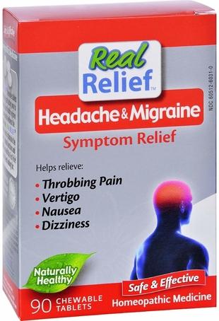 Migraine Relief 90 Chewable Tablest