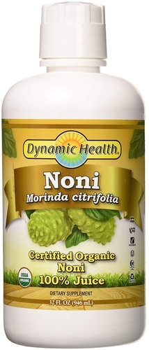 Suco de Noni 100% (Orgânico) 32 fl oz (946 ml) Frasco