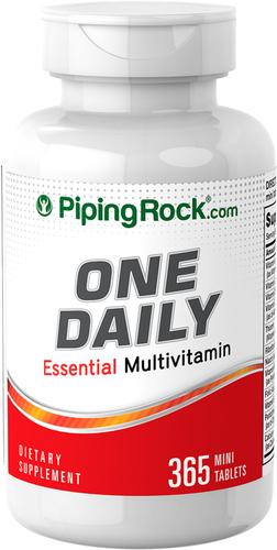 Gündəlik Essensial Multi əlavəsi 365 Örtülü Tabletlər