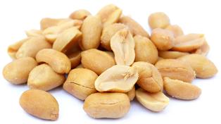 Prženi, neslani kikiriki (bez ljuske) 1 lb (454 g) Vrećica