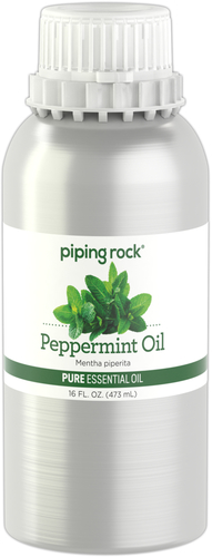 Peppermint Pure Essential Oil (GC/MS Tested), 16 fl oz (473 mL) Canister