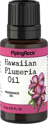 Óleo perfumado de pluméria (havaiana) 1/2 fl oz (15 mL) Frasco conta-gotas