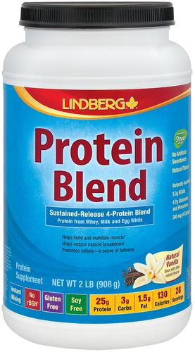 Mieszanka protein (naturalna wanilia) 2 lb (908 g) Butelka