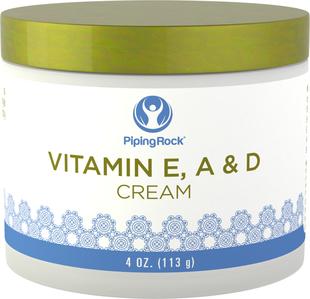 Revitaliserende Vitamin E-, A- og D-krem 4 oz (113 g) Krukke