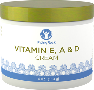 Crème revitalisante à la vitamine E, A et D 4 oz (113 g) Bocal
